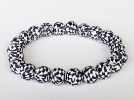 Black & White Mosaic https://www.etsy.com/listing/192339761/black-and-white-polymer-clay-bead?ref=shop_home_active_4