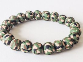Camo https://www.etsy.com/listing/151857496/camouflage-bracelet-polymer-clay-beads?ref=shop_home_active