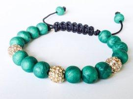 Emerald Isles https://www.etsy.com/listing/163472539/shamballa-bracelet-polymer-clay-beads?ref=shop_home_active