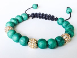 Emerald Isles https://www.etsy.com/listing/163472539/shamballa-bracelet-polymer-clay-beads?ref=shop_home_active