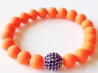Gators Shamballa https://www.etsy.com/listing/152903415/shamballa-bracelet-polymer-clay-beads?ref=shop_home_active
