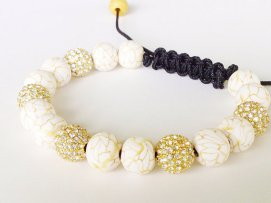 Golden Dreams https://www.etsy.com/listing/156190451/shamballa-bracelet-polymer-clay-beads?ref=shop_home_feat