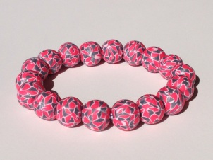 Hot Pink, SIlver , & White Mosaic https://www.etsy.com/listing/176032601/hot-pink-silver-and-white-polymer-clay?ref=shop_home_active_7