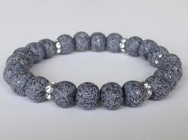 Glitter Grey https://www.etsy.com/listing/192333142/polymer-clay-bead-bracelet-grey-stretch?ref=shop_home_active_1