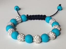 Turquoise Shamballa https://www.etsy.com/listing/158215237/shamballa-bracelet-turquoise-polymer?ref=shop_home_active_9