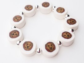 Lion https://www.etsy.com/listing/151849461/lion-bracelet-polymer-clay-beads?ref=shop_home_active