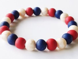 Pearl USA https://www.etsy.com/listing/154926234/patriotic-polymer-clay-bead-bracelet-red?ref=shop_home_active