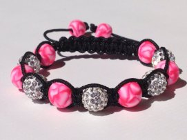 Pink Rose Petal https://www.etsy.com/listing/181014245/shamballa-bracelet-polymer-clay-beads?ref=shop_home_active_17