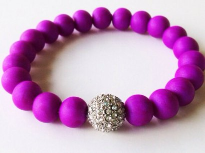 Pearl Purple https://www.etsy.com/listing/151844198/purple-shamballa-bracelet-polymer-clay?ref=shop_home_active