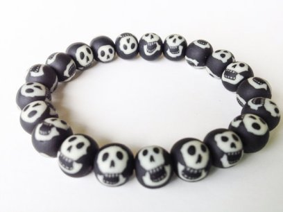 Glow in the Dark Skulls https://www.etsy.com/listing/163255429/skull-bracelet-skeleton-beads-halloween?ref=shop_home_active_18