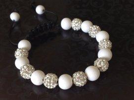 Sparkling White https://www.etsy.com/listing/163156716/shamballa-bracelet-white-polymer-clay?ref=shop_home_active