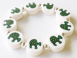 Turtles https://www.etsy.com/listing/155024261/turtle-polymer-clay-beads-bracelet?ref=shop_home_active