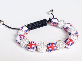 Union Jack Shamballa https://www.etsy.com/listing/158215381/shamballa-bracelet-polymer-clay-beads?ref=shop_home_active_7