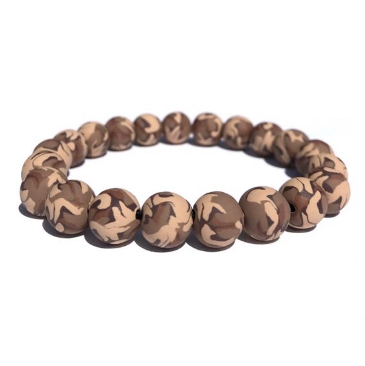 Desert camo bead  bracelets