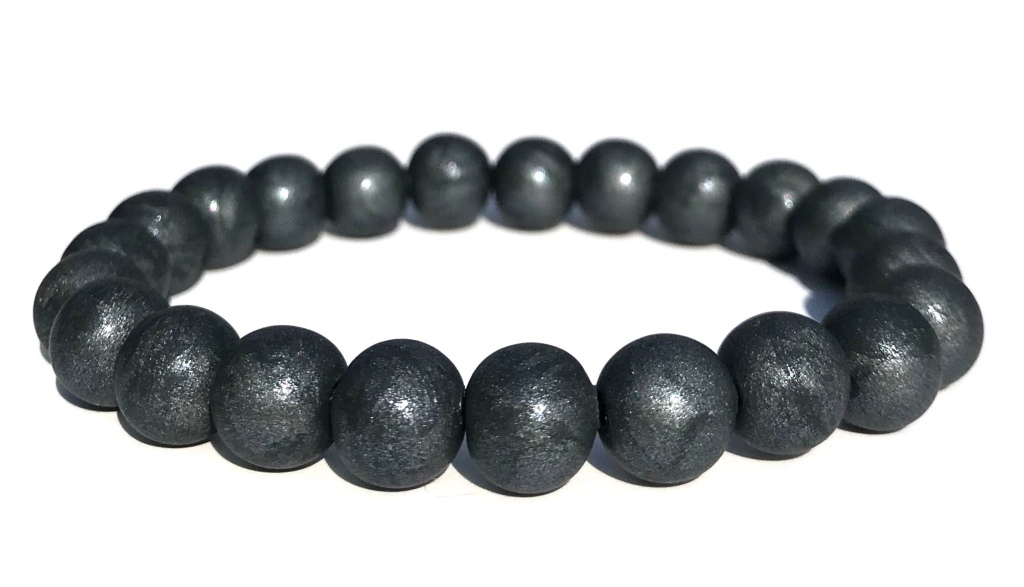 Gunmetal  bead bracelet