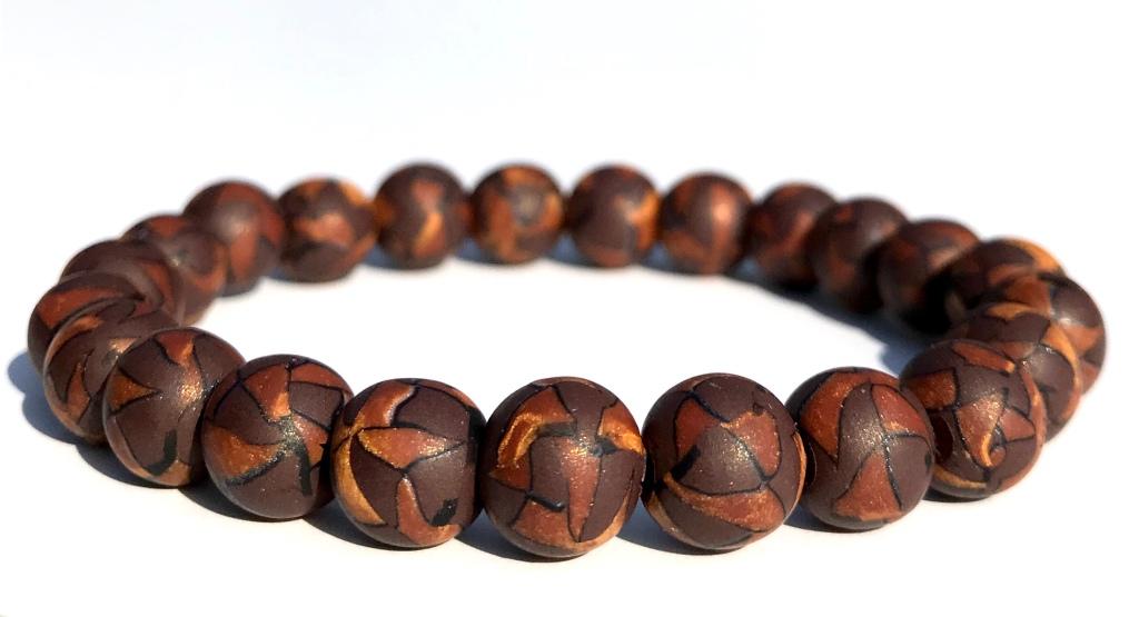Mens bead bracelet